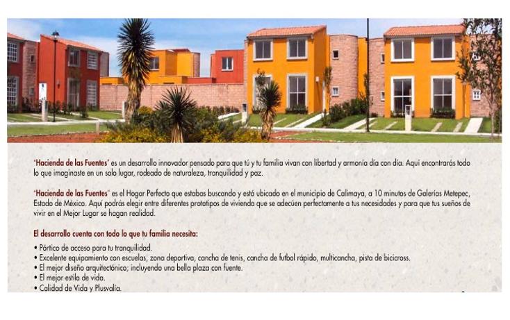 Foto de casa en venta en  , hacienda de las fuentes, calimaya, m?xico, 1073199 No. 03