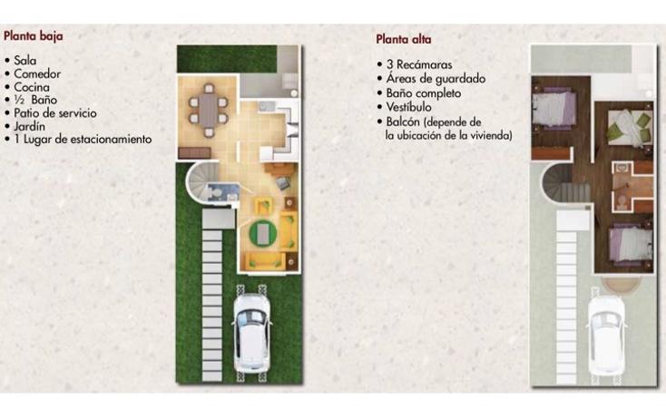 Foto de casa en venta en  , hacienda de las fuentes, calimaya, m?xico, 1073199 No. 04