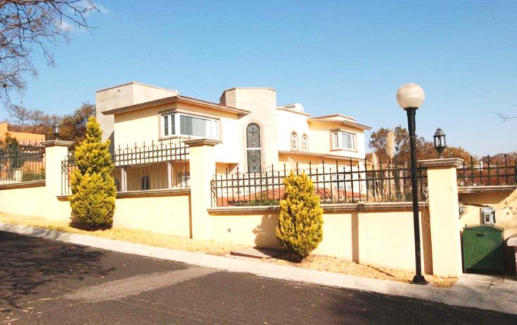 Foto de casa en venta en  , hacienda de valle escondido, atizap?n de zaragoza, m?xico, 503520 No. 01
