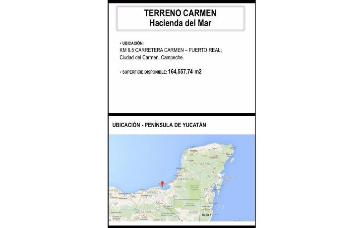 Foto de terreno comercial en venta en  , hacienda del mar, carmen, campeche, 1181325 No. 01