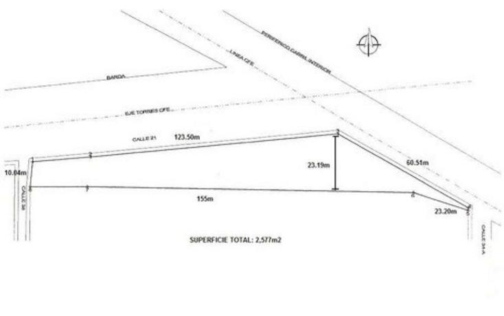 Foto de terreno comercial en venta en  , hacienda dzodzil, mérida, yucatán, 1703722 No. 02