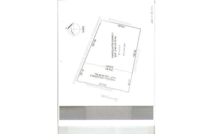 Foto de terreno comercial en venta en  , hacienda grande, tequisquiapan, quer?taro, 1961217 No. 04