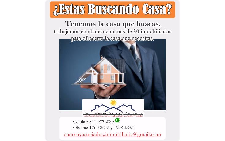 Foto de casa en venta en  , hacienda san miguel, guadalupe, nuevo león, 943105 No. 02