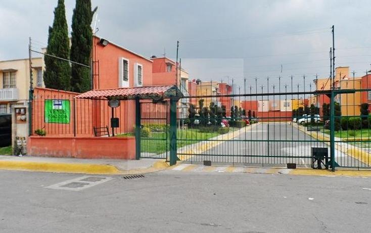 Foto de casa en condominio en venta en  manzana 13lote 10, hacienda de cuautitlán, cuautitlán, méxico, 1336957 No. 01