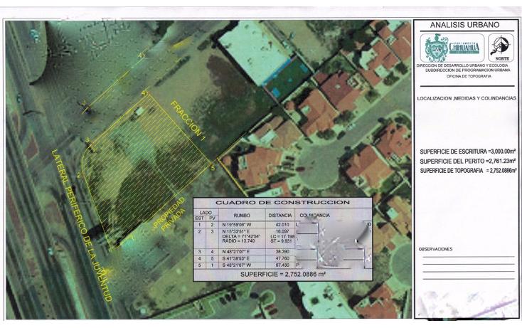 Foto de terreno comercial en venta en  , haciendas del valle i, chihuahua, chihuahua, 1189499 No. 01