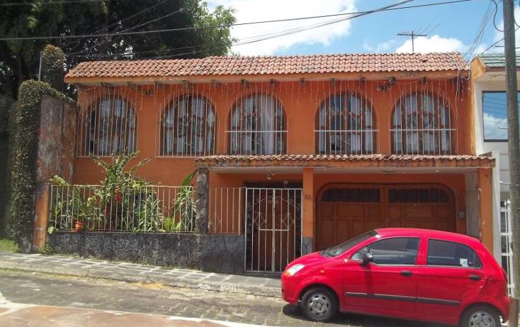 Foto de casa en venta en hayas 26, ferrocarrilera, xalapa, veracruz de ignacio de la llave, 563502 No. 01