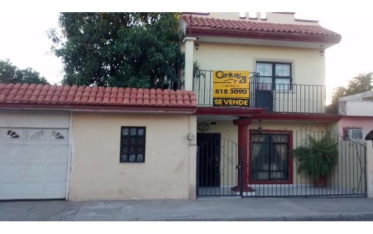 Foto de casa en venta en heriberto valdez 1925, poniente , estrella, ahome, sinaloa, 1717048 No. 01