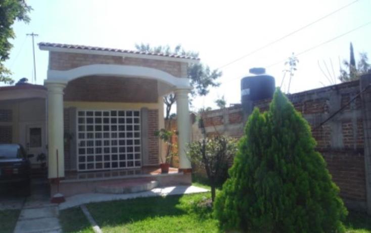 Foto de casa en venta en  , hermenegildo galeana, cuautla, morelos, 1470749 No. 01