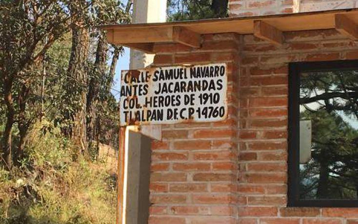 Foto de terreno habitacional en venta en, héroes de 1910, tlalpan, df, 2026313 no 05