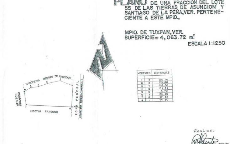 Foto de terreno comercial en venta en heroes de nacozari, túxpam de rodríguez cano centro, tuxpan, veracruz, 1707444 no 20