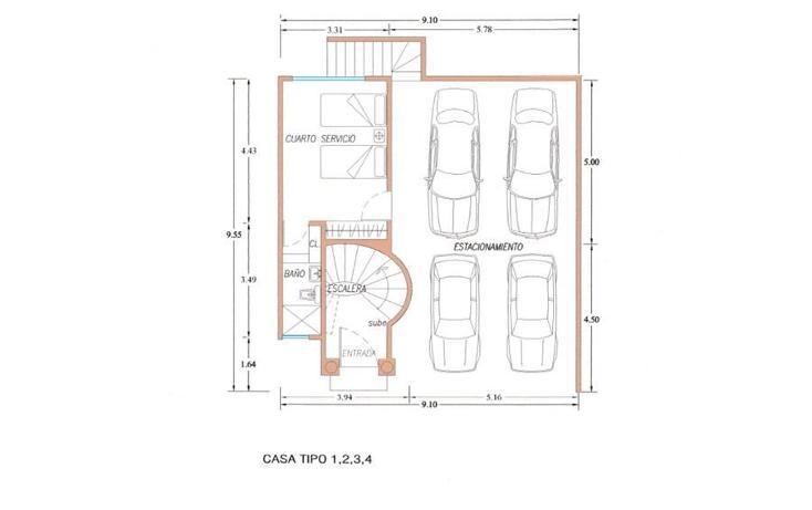 Foto de casa en venta en  , héroes de padierna, tlalpan, distrito federal, 942045 No. 02