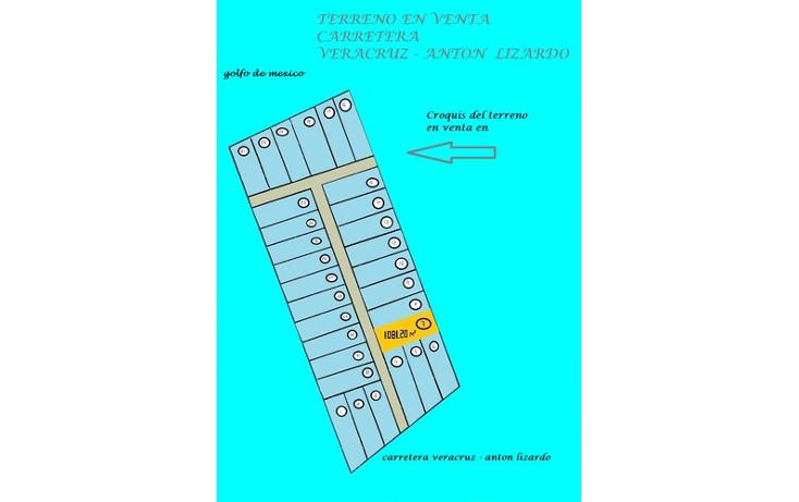 Foto de terreno habitacional en venta en  , heroica anton lizardo, alvarado, veracruz de ignacio de la llave, 1375903 No. 01