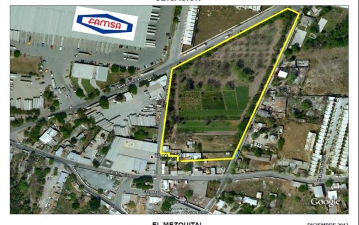 Foto de terreno habitacional en venta en hidalgo 25, el mezquital, apodaca, nuevo león, 515358 no 01