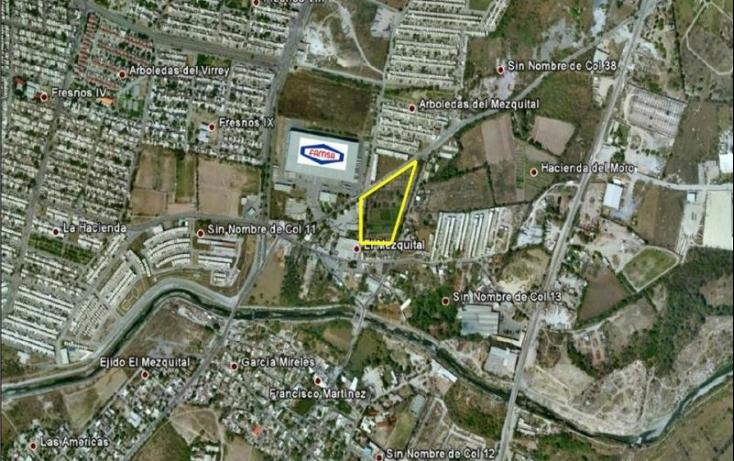 Foto de terreno habitacional en venta en hidalgo 25, el mezquital, apodaca, nuevo león, 515358 no 04