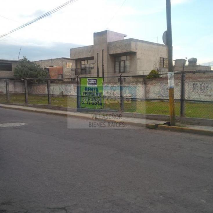 Foto de terreno comercial en renta en  86, san mateo atenco centro, san mateo atenco, méxico, 613712 No. 01