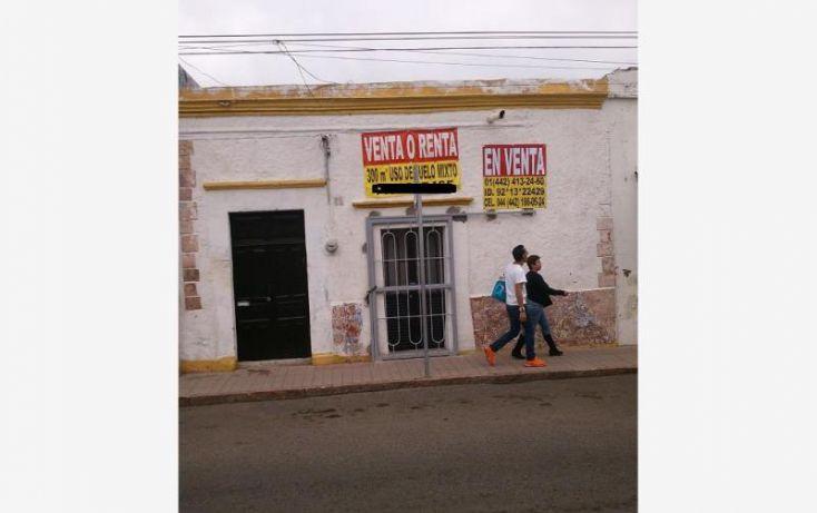 Foto de terreno habitacional en venta en hidalgo, centro sct querétaro, querétaro, querétaro, 1392921 no 01