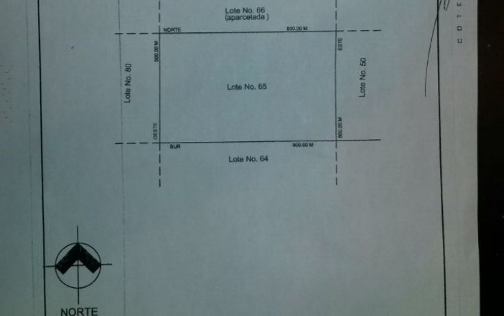 Foto de terreno habitacional en venta en, hidalgo, el tule, chihuahua, 1532700 no 01
