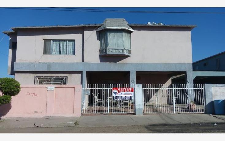 Foto de casa en venta en  -, hidalgo, ensenada, baja california, 1672472 No. 01