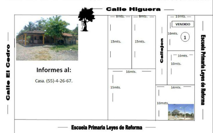 Foto de terreno habitacional en venta en higueras, barrio viejo, zihuatanejo de azueta, guerrero, 803757 no 01