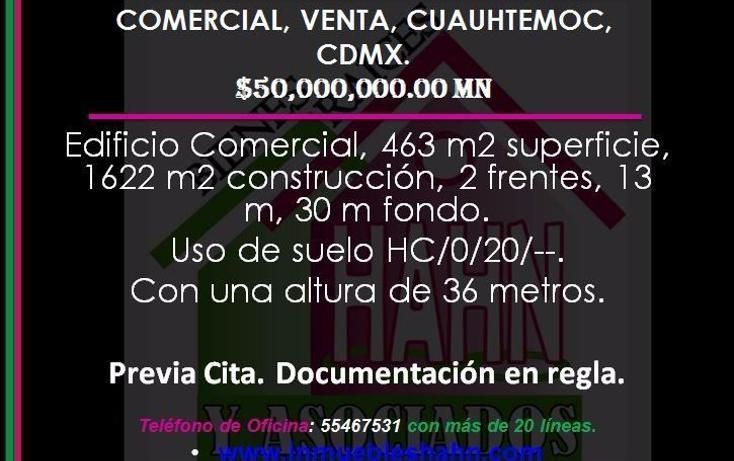 Foto de edificio en venta en  , hipódromo condesa, cuauhtémoc, distrito federal, 3424938 No. 01