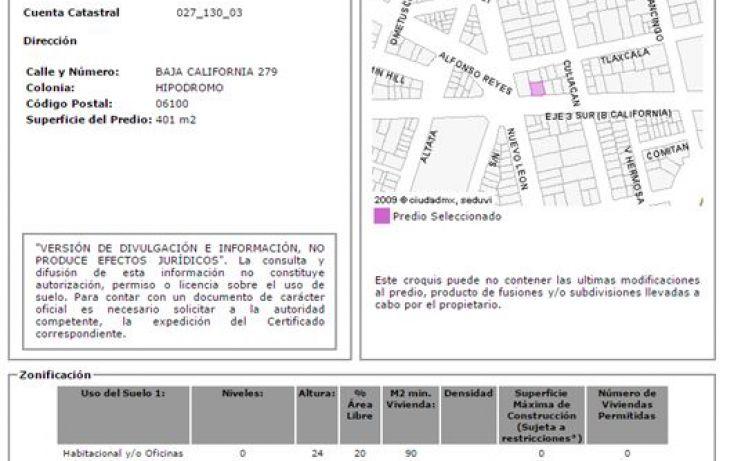 Foto de terreno comercial en venta en, hipódromo, cuauhtémoc, df, 1780840 no 05