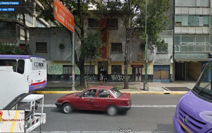 Foto de terreno habitacional en venta en  , hipódromo, cuauhtémoc, distrito federal, 1780472 No. 01