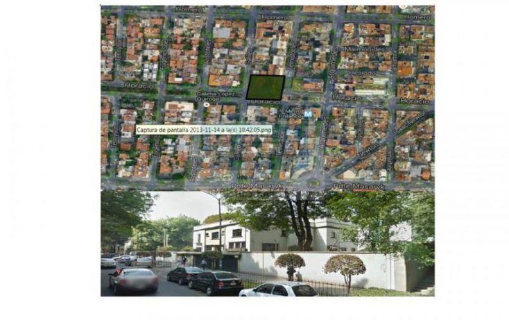 Foto de departamento en venta en horacio, polanco iv sección, miguel hidalgo, df, 613817 no 02