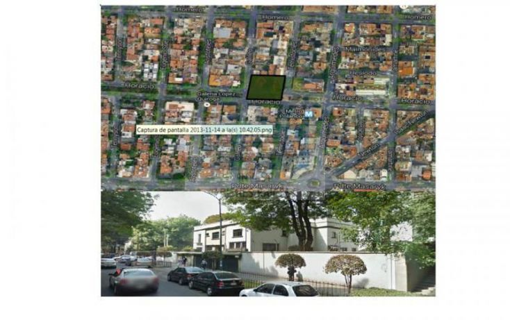 Foto de departamento en venta en horacio, polanco iv sección, miguel hidalgo, df, 714533 no 02