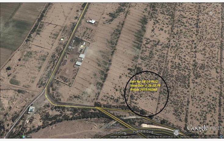 Foto de terreno comercial en venta en  , hormiguero, matamoros, coahuila de zaragoza, 874853 No. 06