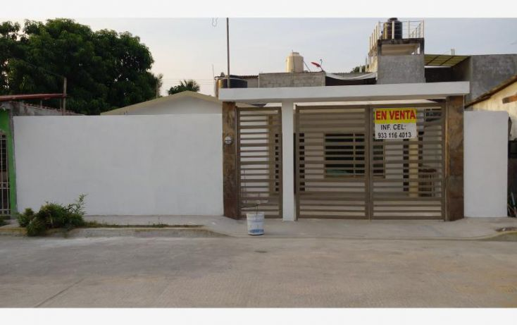Foto de casa en venta en huachinango mz 12, cap reyes hernandez 1a secc el guasimal, comalcalco, tabasco, 1979500 no 01