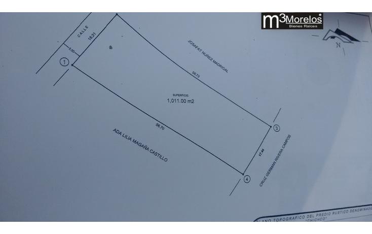 Foto de terreno habitacional en venta en  , huachinantilla, tepoztl?n, morelos, 1524915 No. 01