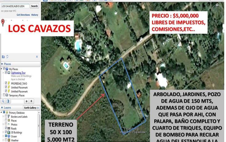 Foto de terreno habitacional en venta en, huajuquito, santiago, nuevo león, 1970692 no 02