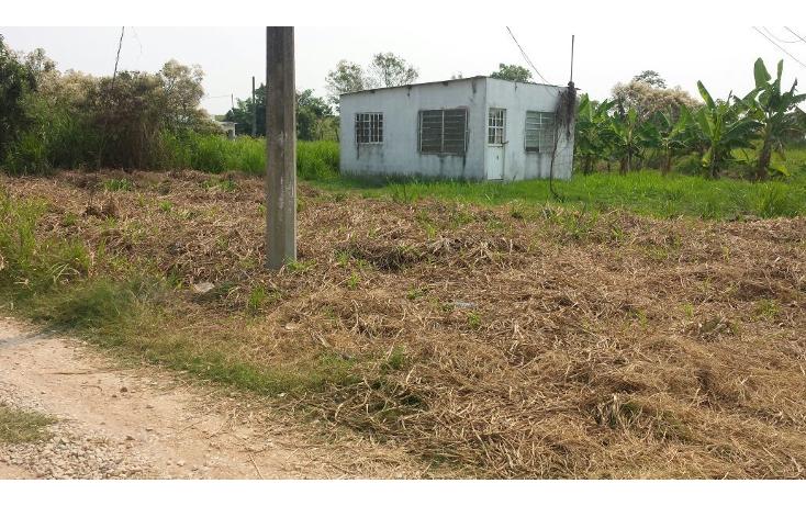 Foto de terreno habitacional en venta en  , huapinol, centro, tabasco, 1941959 No. 03