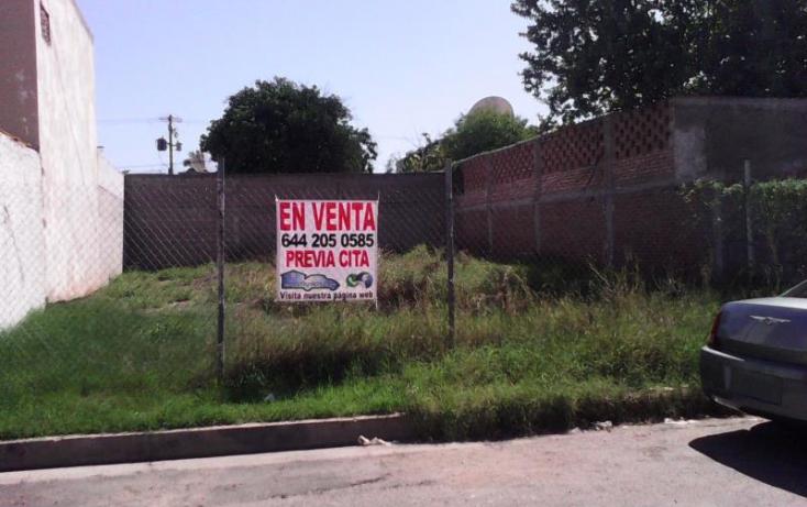 Foto de terreno habitacional en venta en huepac 1, granjas fovissste norte codornices, cajeme, sonora, 860099 no 01