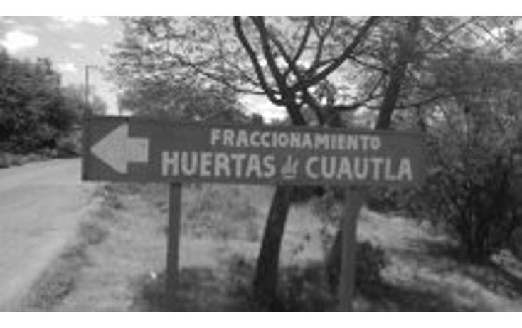 Foto de terreno habitacional en venta en  , huertas de cuautla, ayala, morelos, 1045309 No. 01
