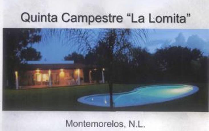 Foto de rancho en venta en  , huertas estación, montemorelos, nuevo león, 1180717 No. 02