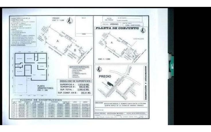 Foto de terreno comercial en venta en  , hueso de puerco (colonia quintín arauz), paraíso, tabasco, 1291777 No. 03