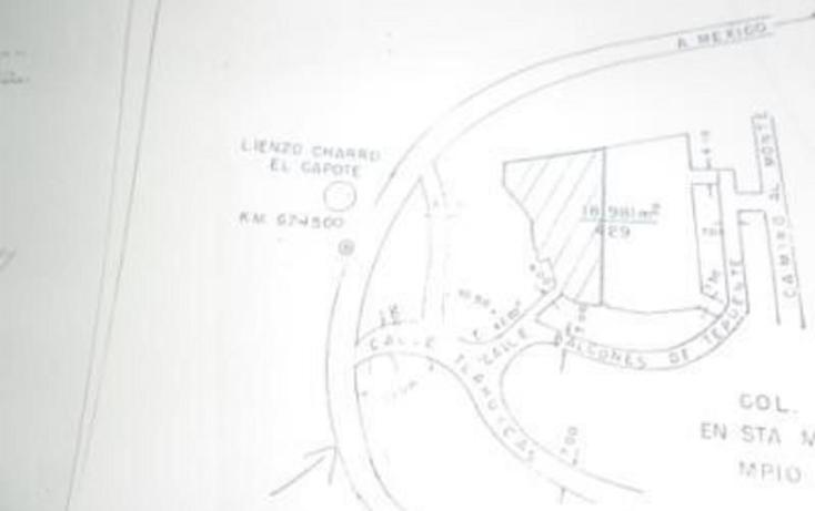 Foto de terreno habitacional en venta en  , huitzilac, huitzilac, morelos, 1210305 No. 04