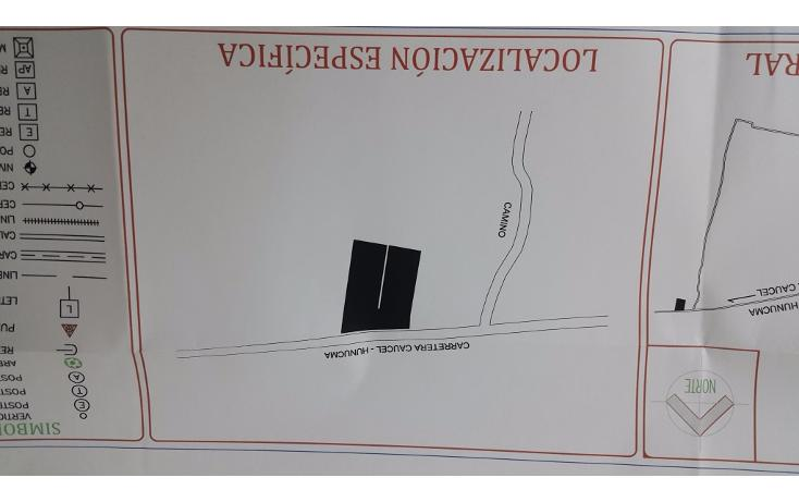 Foto de terreno habitacional en venta en  , huncanab, hunucmá, yucatán, 1736670 No. 03