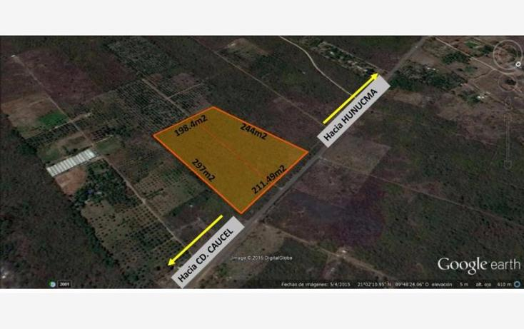 Foto de terreno habitacional en venta en  , huncanab, hunucmá, yucatán, 1745051 No. 01