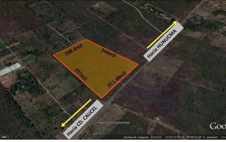 Foto de terreno habitacional en venta en, huncanab, hunucmá, yucatán, 1860844 no 01