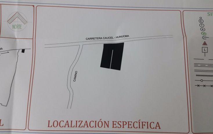Foto de terreno habitacional en venta en, huncanab, hunucmá, yucatán, 1860844 no 03