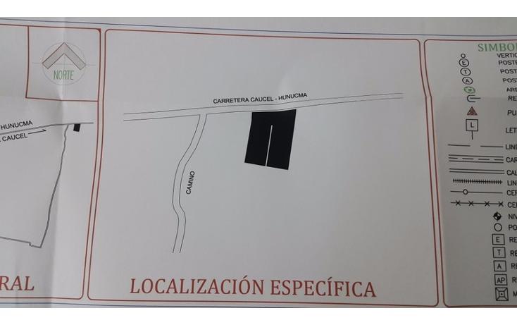 Foto de terreno habitacional en venta en  , huncanab, hunucmá, yucatán, 1860844 No. 03
