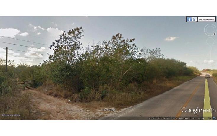 Foto de terreno habitacional en venta en  , huncanab, hunucmá, yucatán, 1860844 No. 05