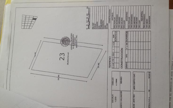 Foto de terreno habitacional en venta en  , hunucmá, hunucmá, yucatán, 1123501 No. 02