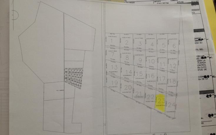 Foto de terreno habitacional en venta en  , hunucmá, hunucmá, yucatán, 1123501 No. 03