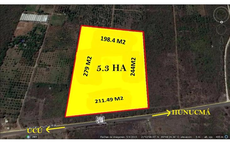 Foto de terreno comercial en venta en  , hunucmá, hunucmá, yucatán, 1392451 No. 01