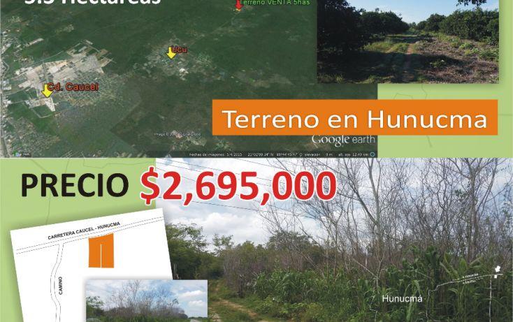 Foto de terreno comercial en venta en, hunucmá, hunucmá, yucatán, 1506221 no 02
