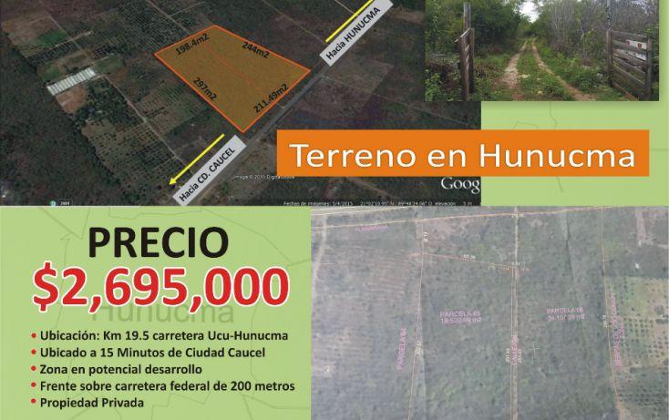 Foto de terreno comercial en venta en, hunucmá, hunucmá, yucatán, 1506221 no 03