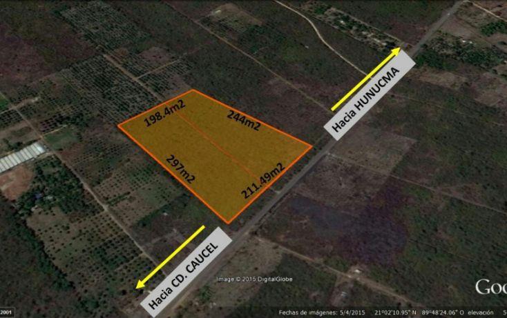Foto de terreno comercial en venta en, hunucmá, hunucmá, yucatán, 1720730 no 02